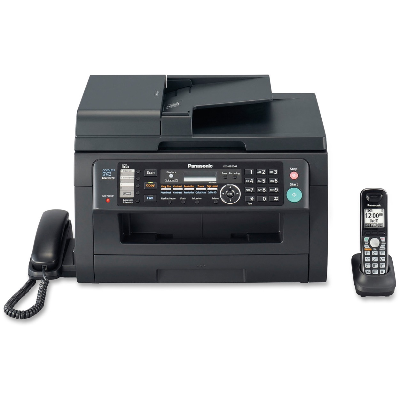 Panasonic KX-MB2061 Laser Multifunction Printer - Monochrome - Plain Paper Print - Desktop