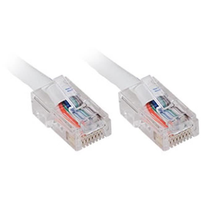 Generic 119 5266 CAT5e Patch Cable, 1ft, White