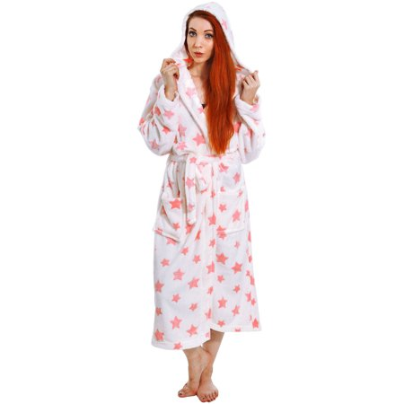 Women's Plush Velvet Long Spa Robes Shawl Kimono Bathrobe Sleepwear (Lined Velvet Robe)