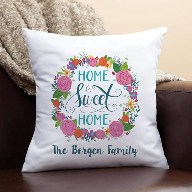 Personalized Throw Pillow Mcgee Home Sweet Home Walmart Com Walmart Com