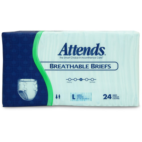Attends Breathable Brief Case of 72/Large