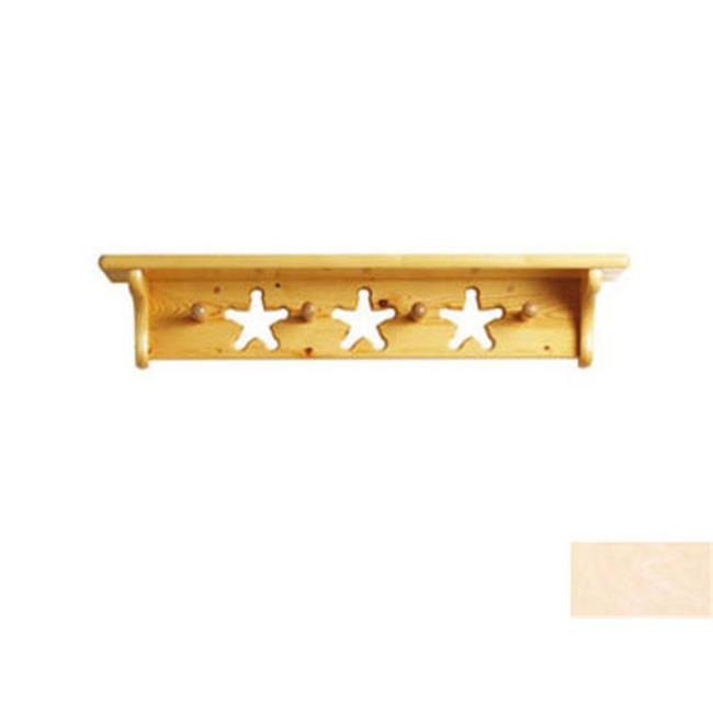 Little Colorado 1234UNFST Star Peg Shelf