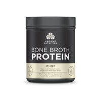 Ancient Nutrition, Bone Broth Protein, Pure, 20 Servings