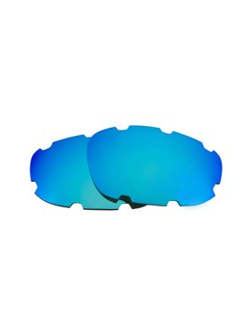 Replacement Lenses Compatible with OAKLEY Split Jacket (VENTED) Polarized Blue