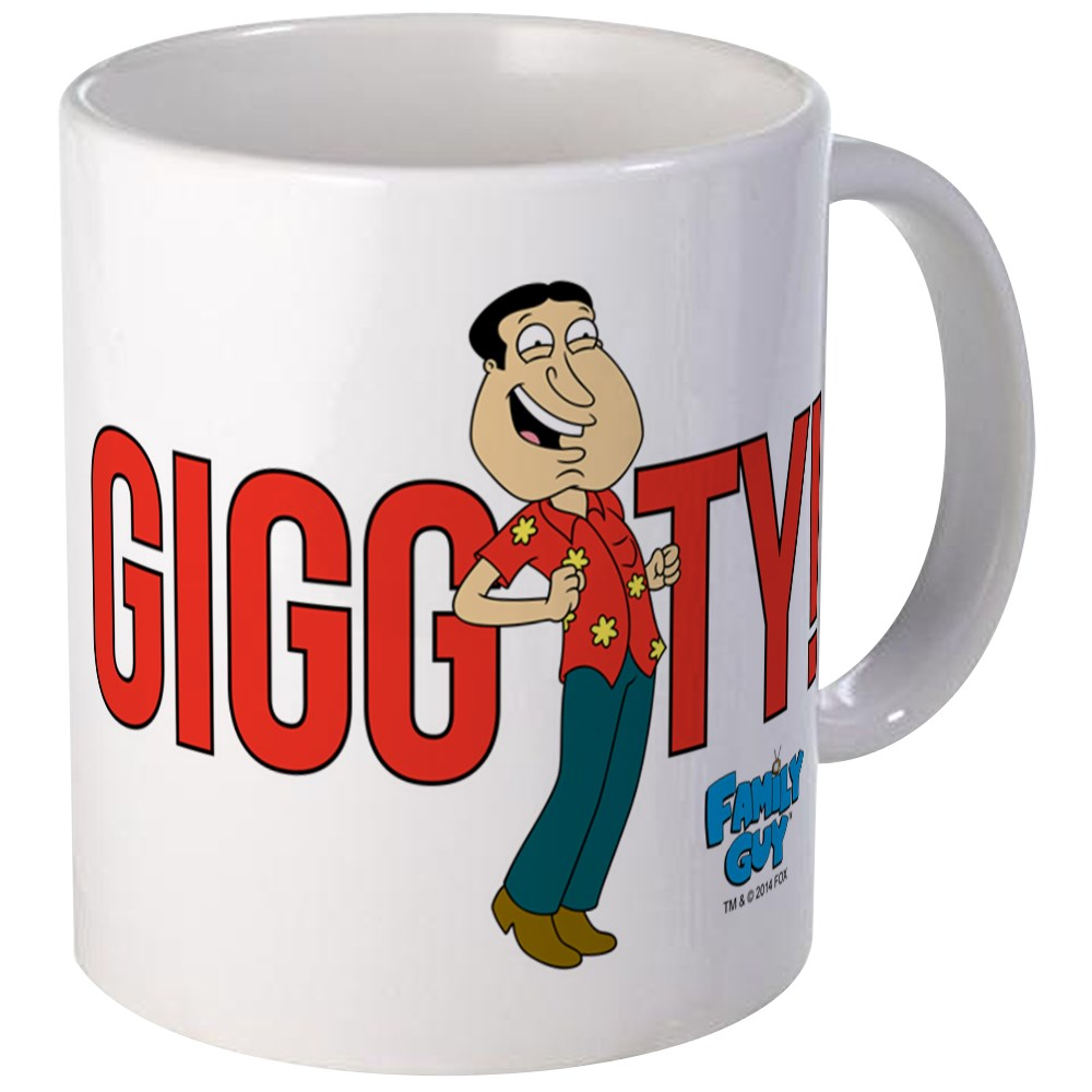 CafePress - Family Guy Giggity Mug - Unique Coffee Mug, Coffee Cup CafePress