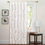 "Lillian White Window Curtain 40"" x 84"""