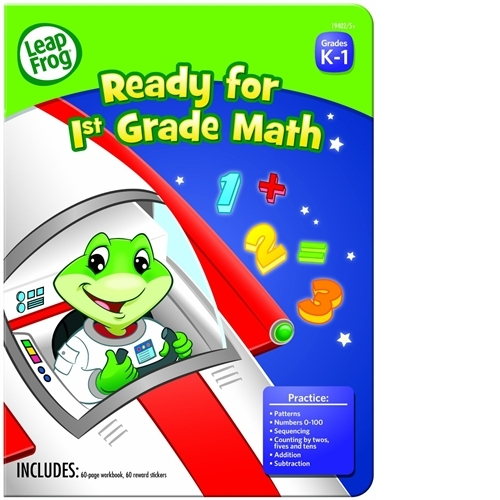 The Board Dudes Leap Frog Ready for 1st Grade Reading Workbook (Set of 24)