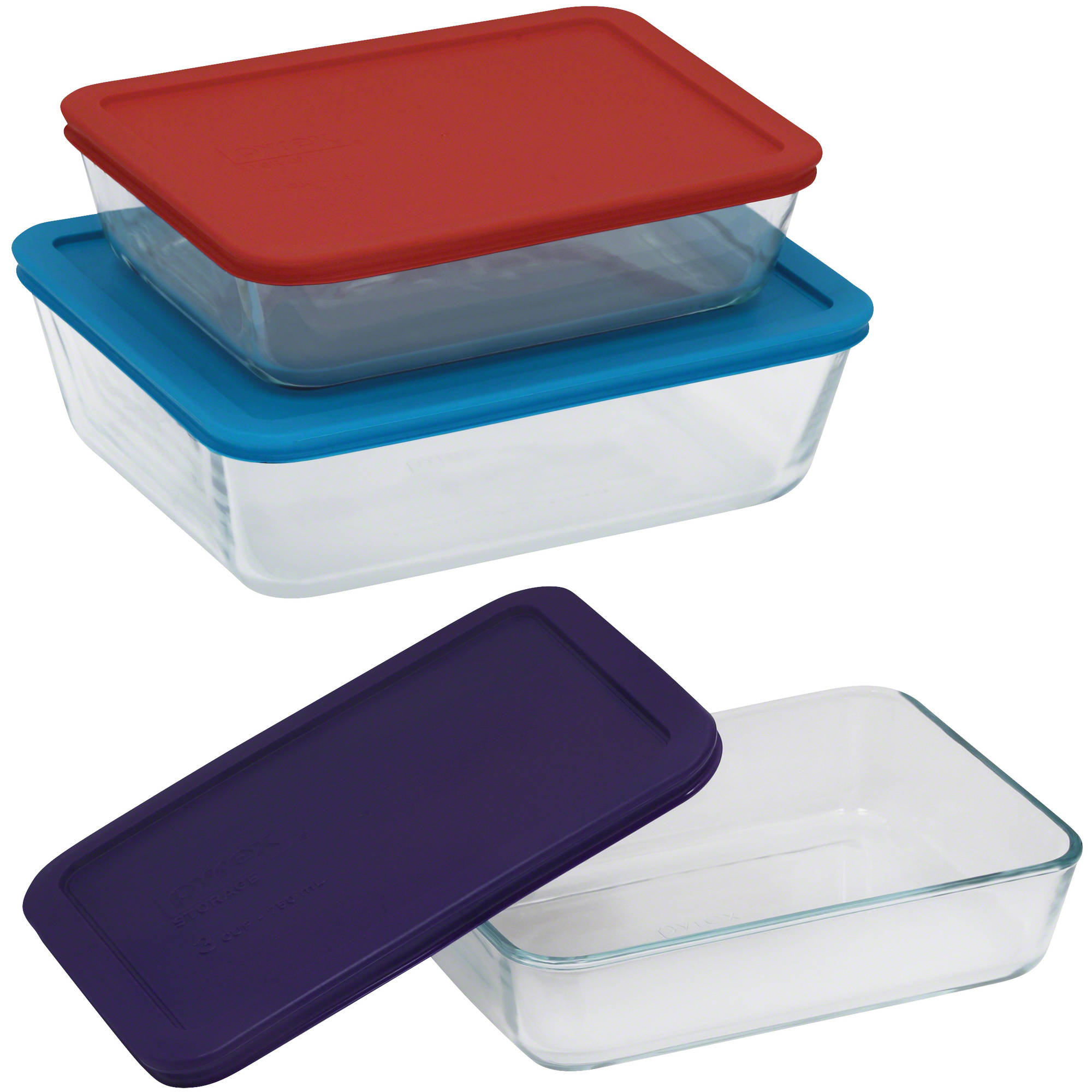 Pyrex Simply Store 6-Piece Value Pack