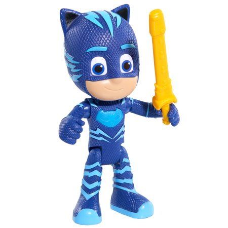 PJ Masks Deluxe Talking Catboy Figure w/ (Stylized Giraffe Mask)
