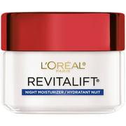 L'Oreal Paris Revitalift Anti Wrinkle + Firming Anti-Aging Night Cream, 1.7 oz.