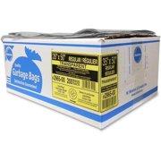 BAGS GARBAGE, ECOLOGO 35X50 CLEAR REGULAR 200/CTN