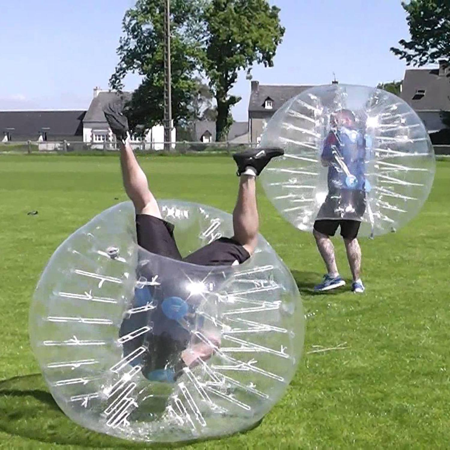 1.5M Diameter Inflatable PVC Transparent Bumperball Human Knocker Ball Bubble Soccer KMIMT by