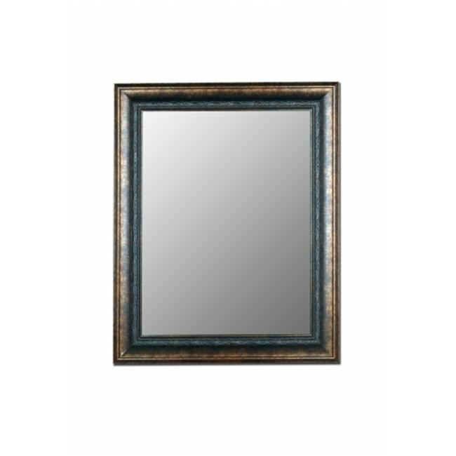 2nd Look Mirrors 330402 34x46 Milano Bronzed Black Mirror by 2nd Look Mirrors