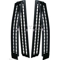 Titan 8' Pair of Truck Loading Ramps for Motorcycles and Recreational Vehicles