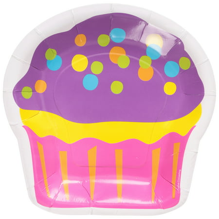 Birthday Treat Plate - Birthday Treats Plates 8- 8 in. Pack