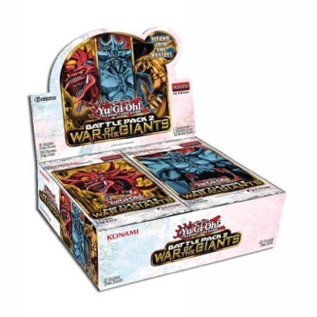 Giants Booster Pack - YuGiOh Battle Pack 2 War of the Giants Booster Box