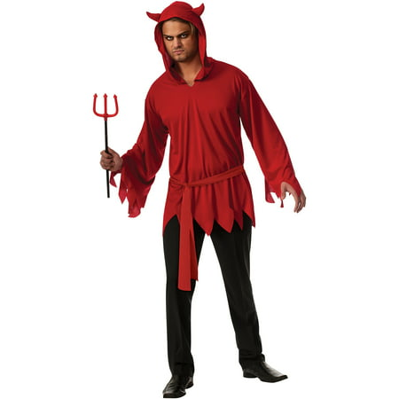 Convict Halloween Costume Mens (Devil Mens Halloween Costume)