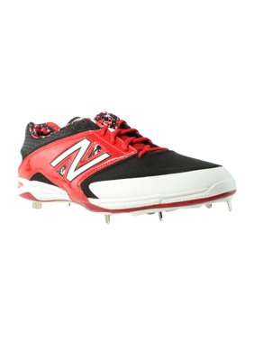 0e36b938cb3be Product Image New Balance L4040 Black/Red Cleats Mens Athletic Shoes Size  EUR 51 New