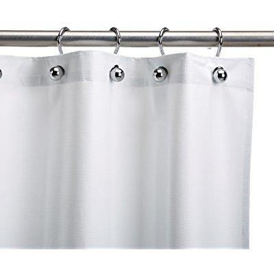 Csi Bathware Cur54x72nh Heavy Duty Commercial Shower Curtain Antistatic Staph Resistant Mold And Odor