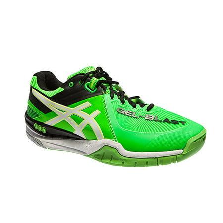 grand choix de 2e9af 3f159 Asics Men's Gel Blast 6 Indoor Court Shoe E413Y 7001 (Green/White/Black, 14  D(M) US)