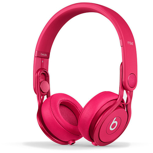 Beats by Dre Mixr On-Ear Headphone Color Pink