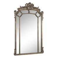 Elegant Furniture & Lighting Antique Arch Wall Mirror - 30W x 48H in.