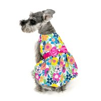 Vibrant Life Bright Floral Dog Dress
