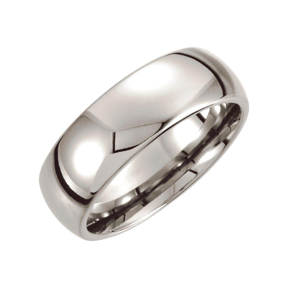 Size 11.5 Dura Cobalt Wedding Band Ring