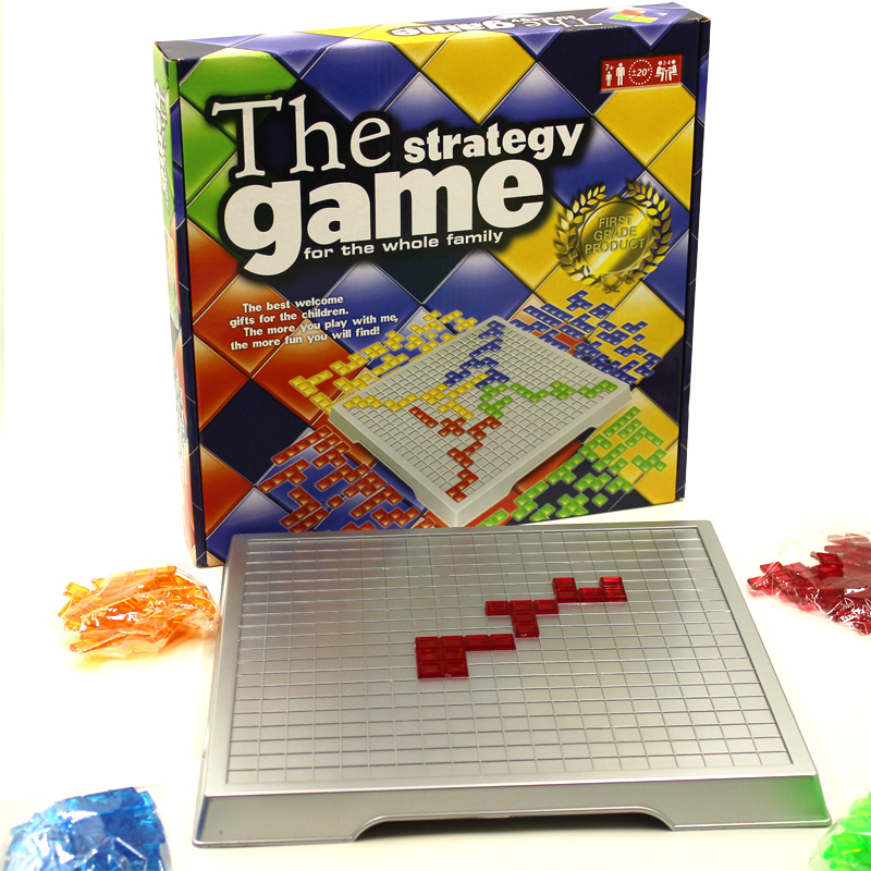 Strategy Game Blokus Board Game