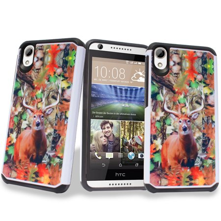 ? for HTC Desire 626 626s Case Phone Case Hard Back Bump Absorber Shock Cushion TPU Gel Slim Hybrid 626 626 S Cover Oh~ Deer~ ?
