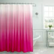 gray and red shower curtain. Creative Home Ideas Ombre Textured Shower Curtain with Beaded Rings Dark Grey  Red Curtains Walmart com martinkeeis me 100 And Images