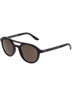 38e10c2ce98 Product Image Giorgio Armani AR8095-504273-49 Black Oval Sunglasses