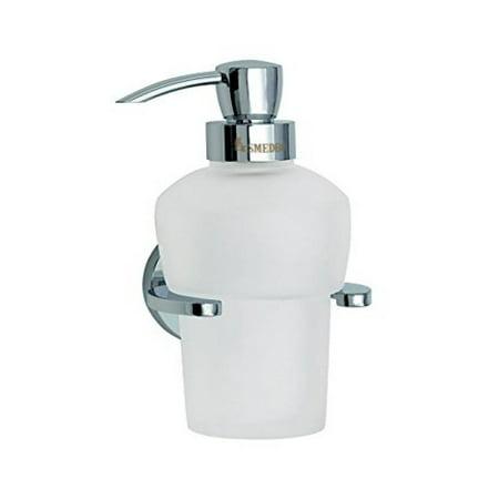 Smedbo SME_LK369 Soap Dispenser Wall mount, Polished Chrome Smedbo Glass Polished Soap Dispenser