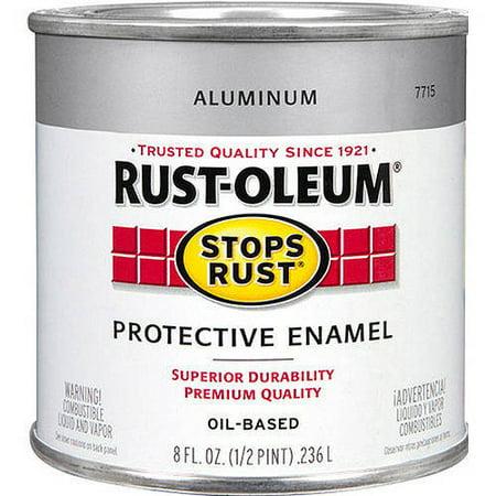 Rust-Oleum Stops Rust, 1 qt, Gloss Black