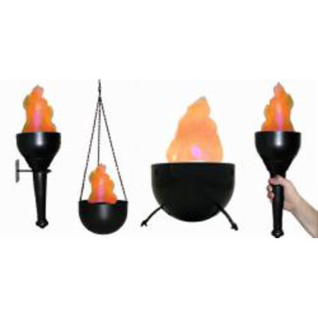 Flame Light Burning Torch 4in1 Battery Operated Fake Fire Artifical