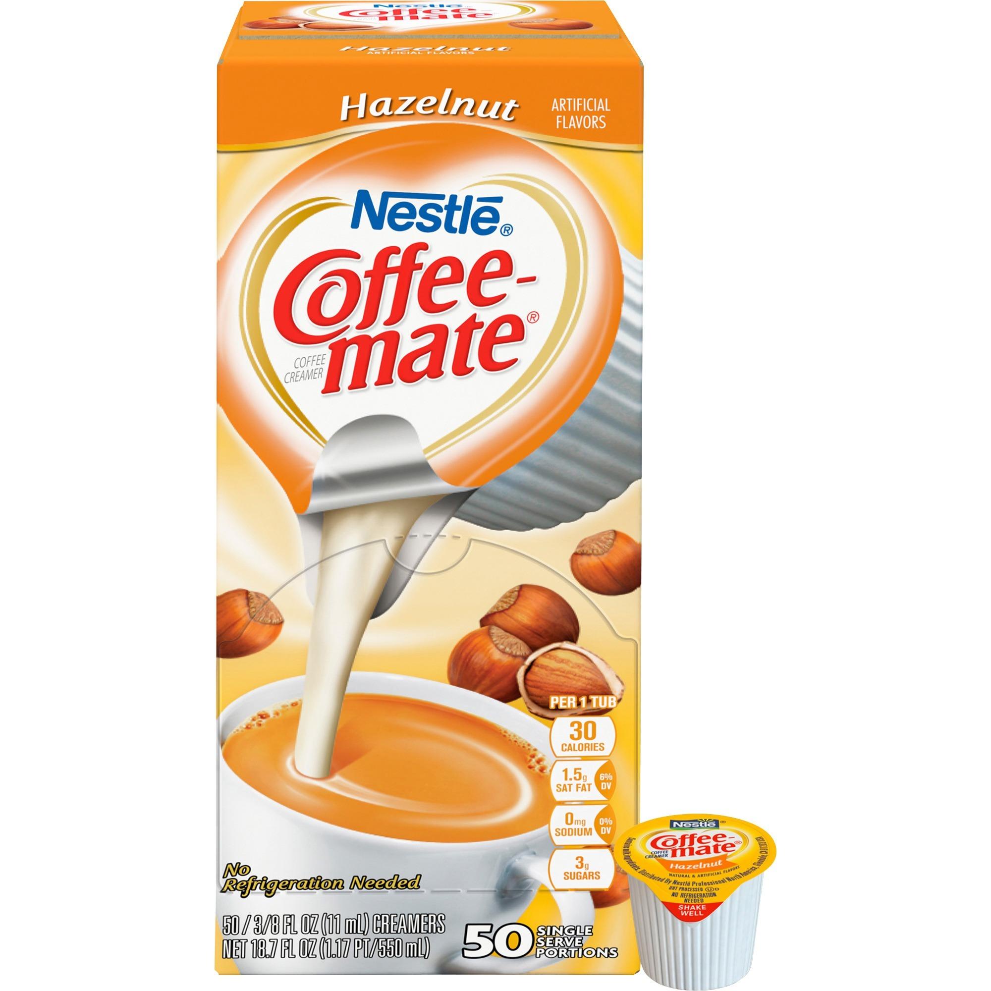 Coffee-Mate Hazelnut Liquid Coffee Creamer 50 ct Box