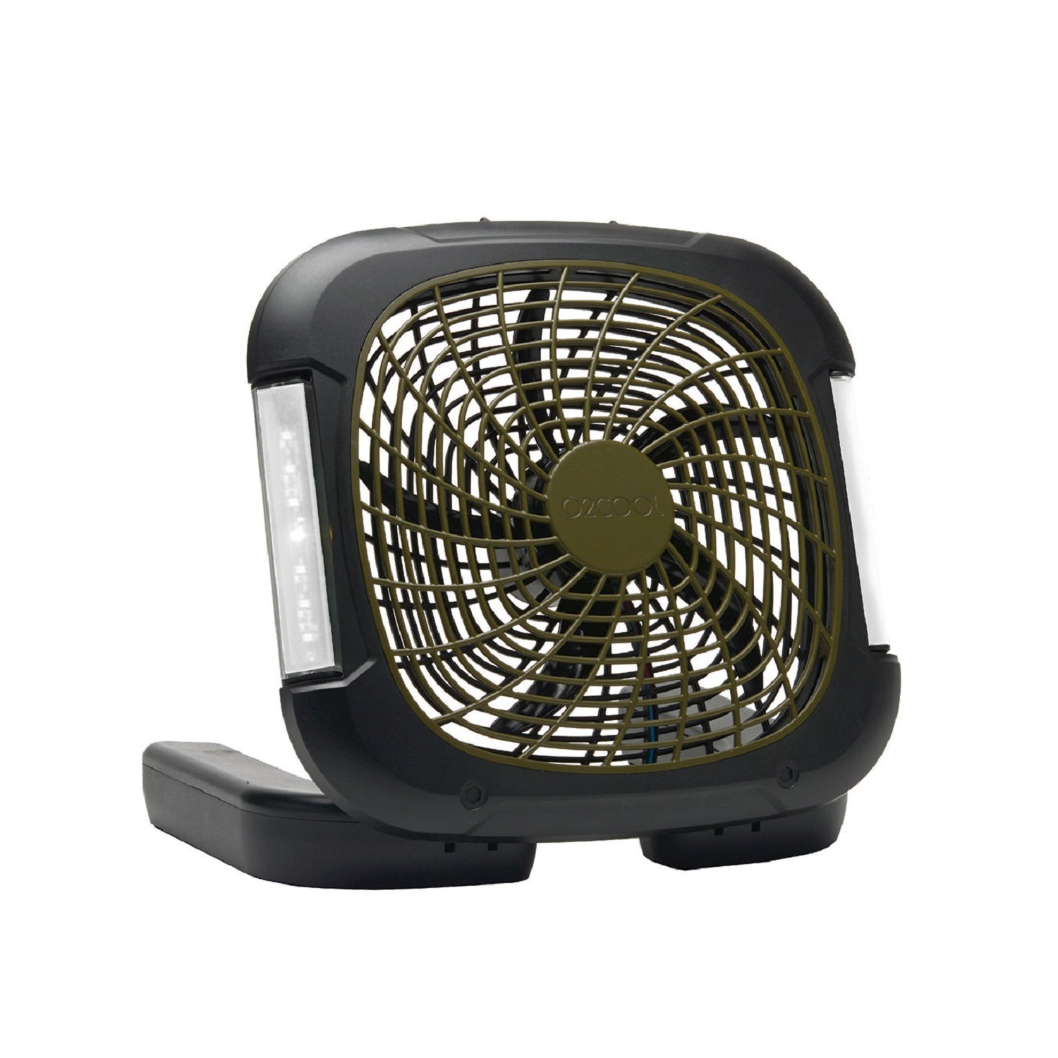 "O2COOL 10"" Portable Camp Fan with Light"