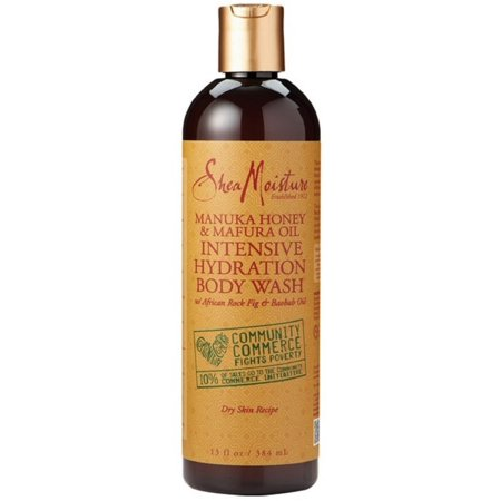 Africa Honey (Shea Moisture Manuka Honey & Mafura Oil Intensive Hydration Body Wash with African Rock Fig & Baobab Oil  13 oz (Pack of)