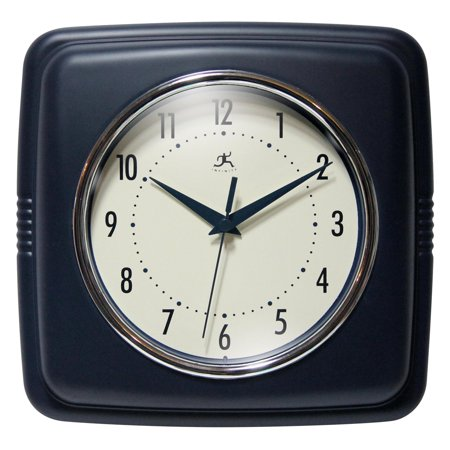 Infinity Instruments 9 Square Retro 9W x 9H in. Wall - Celtic Square Clock