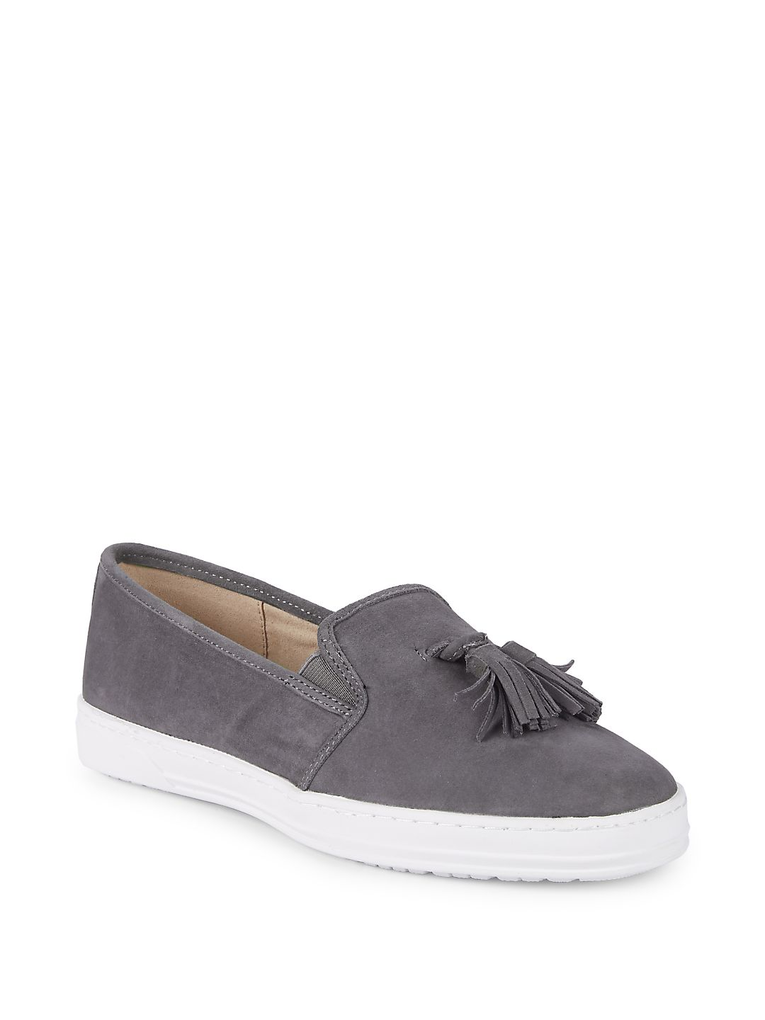 Zane Slip-On Suede Sneakers