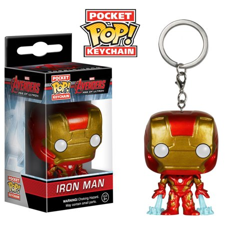 Collectible Toy Funko Avengers Age Of Ultron Iron Man Pocket Pop  Key Chain  Multipack Of 3