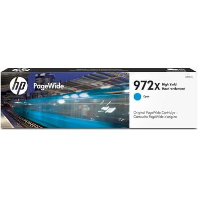 HP 972X High Yield Cyan Original PageWide (Hp 98a Toner Cartridge Best Price)