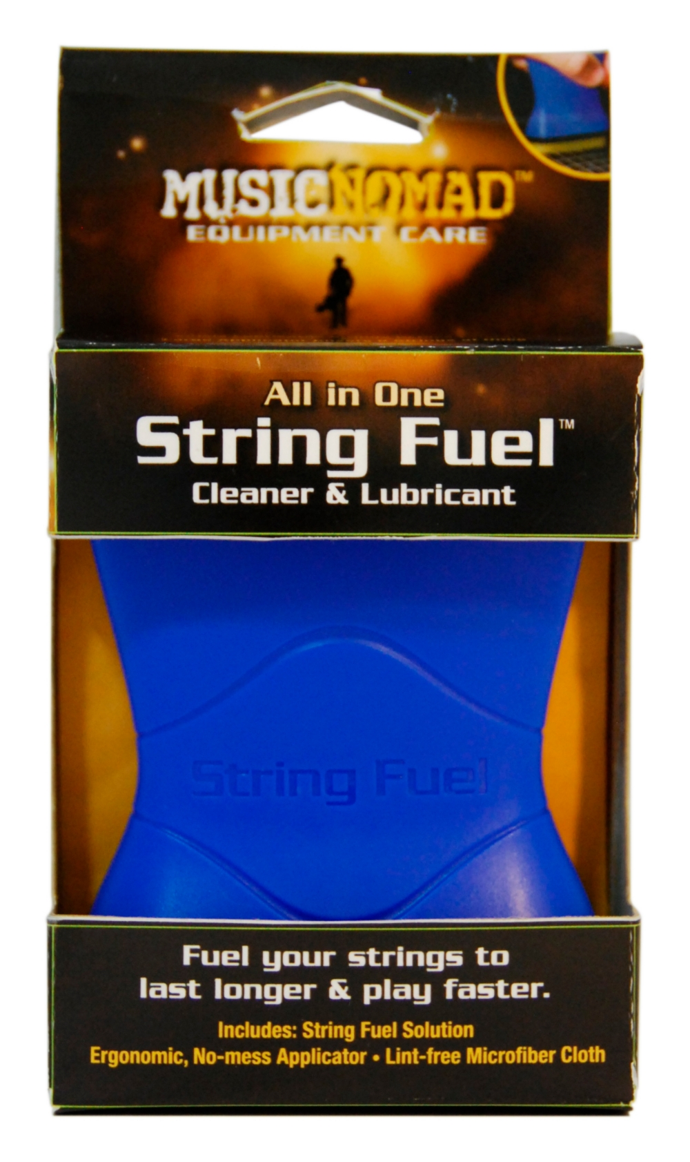 Music Nomad String Fuel All In One String Cleaner & Lubricant by Music Nomad