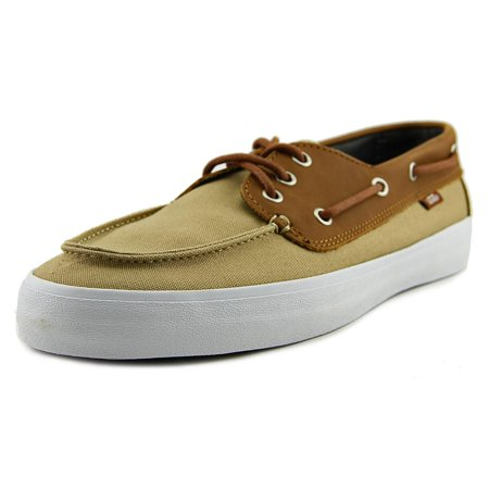 vans chauffeur canvas boat shoe