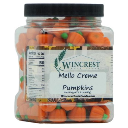 Autumn Mello Creme Pumpkins - 1.5 Lb Tub
