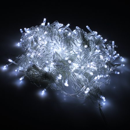 Curtain Light 224led 9.8ft*6.6ft Curtain String Fairy Led Lights for Garden,Wedding, Party(PURE White)