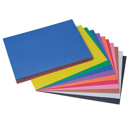 SUNWORKS CONSTRUCTION PAPER 9X12 ASSORTED (Halloween Construction Paper Projects)