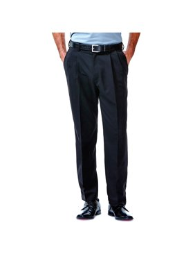 9a7ad293d0 Product Image Haggar Men s Cool 18® Solid Pleat Front Pant Classic Fit  41114529486