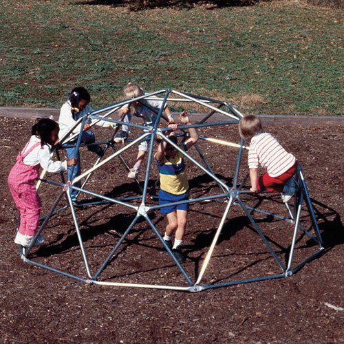 Sportsplay Geo Dome Climber - Galvanized