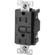 Cooper Wiring Devices Devices Silver Granite Aspire Lighted GFCI Duplex Receptacle GFI Outlet 15A 9566SG